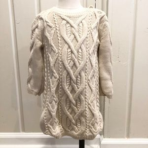Baby Gap Cable Knit Sweater Dress